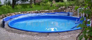otevřené zastřešení bazénu TROPIKO